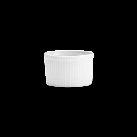 Pillivuyt - Souffléform Høj Nr. 5 - Hvid 35 Cl. Ø10 Cm.