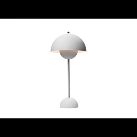 &Tradition -Flowerpot bordlampe VP3 mat lys grå