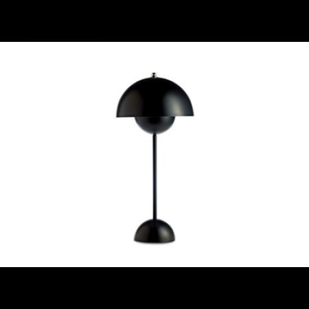&Tradition -Flowerpot opladelig bordlampe VP9 mat sort