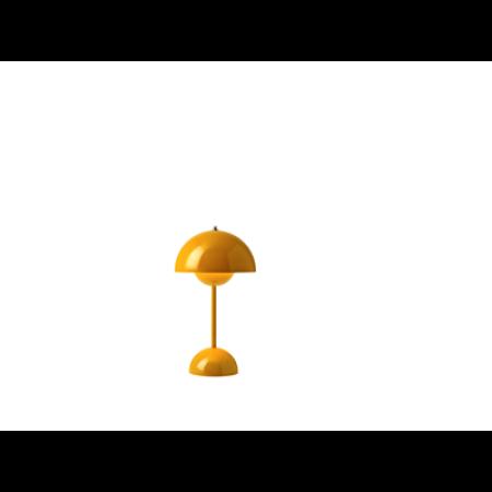 &Tradition -Flowerpot opladelig bordlampe VP9 sennepsgul
