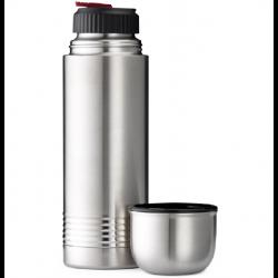 Emsa Senator Termoflaske 1 Liter i Børstet Stål.
