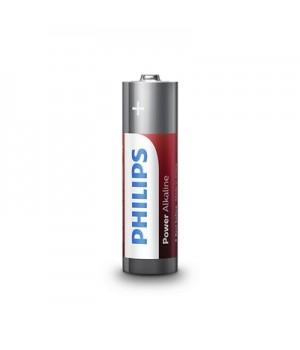 Philips Batterier (AA) LR6 Power Alkaline Batteri 1,5V - 4 stk.