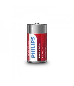 Philips Batterier (C) LR14 Power Alkaline Batteri 1,5V - 2 stk.