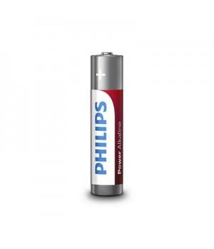 Philips Batterier (AAA) LR03 Power Alkaline Batteri 1,5V - 12 stk.