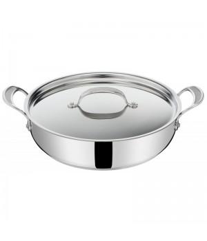 Tefal - Jamie Oliver Cook's Classics SS Chefpande m. låg, 30 cm.