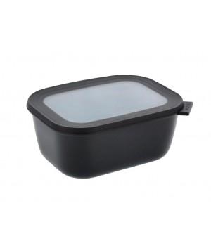 Mepal - Cirqula Rektangulær skål m/låg 1500 ml - Black