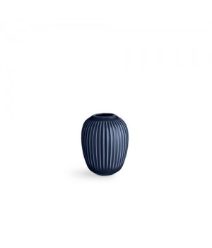 Kahler Hammershøi Vase - 10 Cm. Indigo