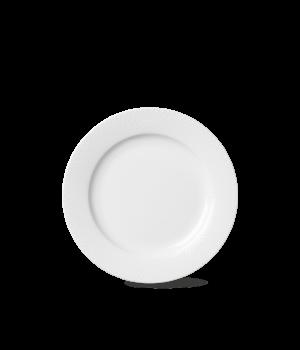 Lyngby - Rhombe Frokosttallerken - 23 Cm. Hvid