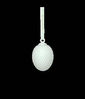 Lyngby - Rhombe Påskeophæng Soft Green - H7,5 cm. Farve: Soft Green. Materiale: Porcelæn. Diameter: 4,5 cm. Højde: 7,5 cm.