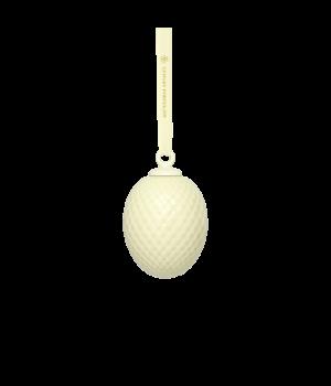 Lyngby - Rhombe Påskeophæng Soft Yellow - H7,5 cm