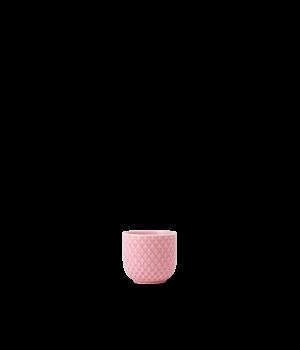 Lyngby - Rhombe Color Æggebæger Rose - Ø5 cm