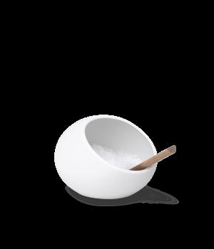 Rosendahl - Saltkar Hvid/Eg - Ø11,5 Cm
