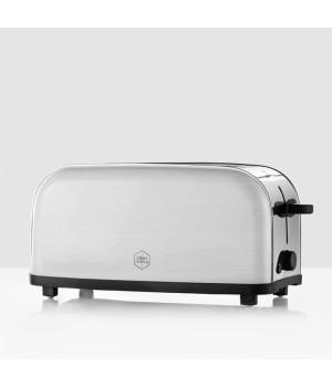 OBH - Toaster 4-Skiver - Manhattan Stål