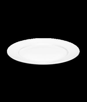 Pillivuyt - Plissé Middagstallerken Flad - Hvid Ø28Cm