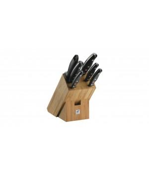 ZWILLING - Knivblok Bambus 7 Dele - TWIN® Pollux