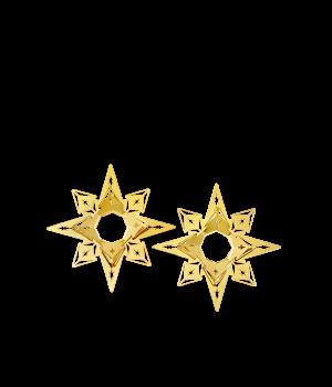 Rosendahl - Karen Blixens Jul - Lysmanchet stjerne H 3 cm 2 stk.