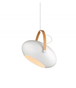 Halo Design - DC Pendel - Ø 40 Cm. Hvid/Eg
