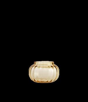 Holmegaard - Fyrfadsstage Primula - Amber Ø9,5 Cm
