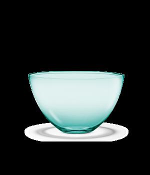 Holmegaard - Skål Cocoon - Aquamarine Ø15 Cm