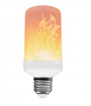 Flammepære Med 3 Lysfunktioner