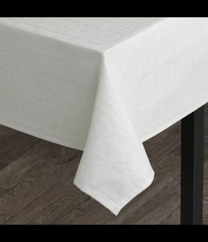 Bjørn Wiinblad - Squares Damaskdug Hvid - 150x180 cm