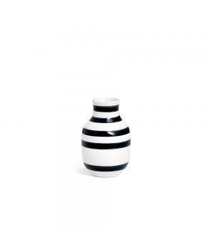 Kähler - Omaggio Vase Sort - H12,5 Cm