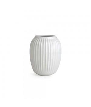Kähler - Hammershøi Vase - Hvid Højde: 20 Cm.