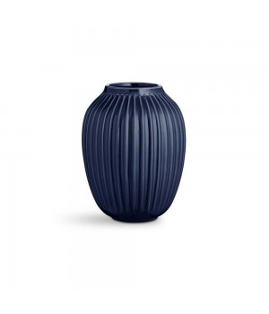 Kähler - Hammershøi Vase - Indigo Højde: 20 Cm.