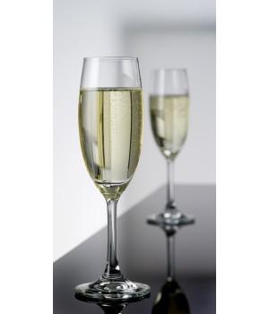Atelier Chateau Glas Champagne 22 cl. - 4 stk i Gaveæske