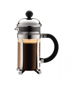 Bodum Chambord Kaffebrygger i krom - 3 kops