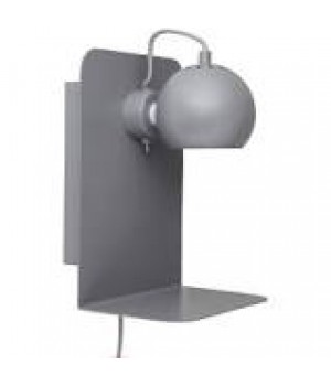 Frandsen - Ball væglampe med USB grå