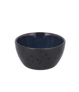 BITZ - Skål Dia. 12 x 6 cm - sort/mørkblå