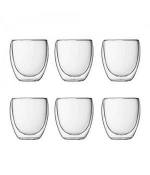 Bodum Pavina Outdoor Dobbeltvægget Plastikglas - 0,25 Cl. 6 Stk.