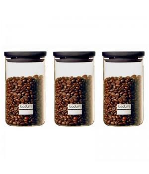 Bodum – Yohki opbevaringsglas sæt – 1 L – 3 stk