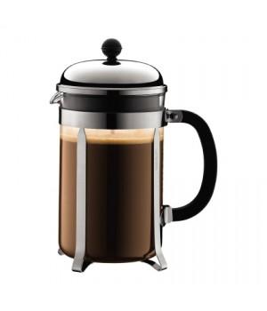 Bodum Chambord Kaffebrygger i krom - 12 kops