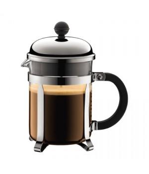 Bodum Chambord Kaffebrygger i krom - 4 kops