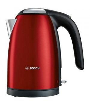 Bosch Elkande i glamour rød 1,7 liter