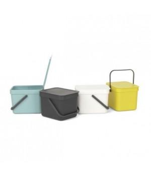 Brabantia - affaldsspand 6 liter hvid