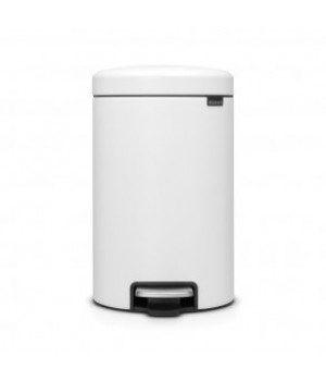 Brabantia - pedalspand 12 liter hvid