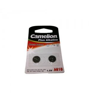 Camelion Knapbatteri AG10 - 2 pak