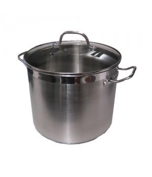 5705724020901 Conzept Gryde 13,5 liter i Rustfrit stål med glaslåg