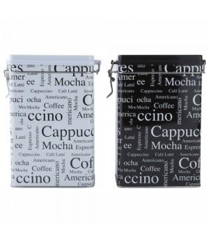 Galzone - Kaffedåse M/Patentluk - HVID