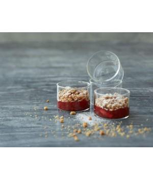 Blomsterberg - Dessertglas Dia. 8 x 5,7 cm - 4 stk.
