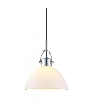 Halo Design - Denver Pendel - Ø 19 Cm. Opal/Krom