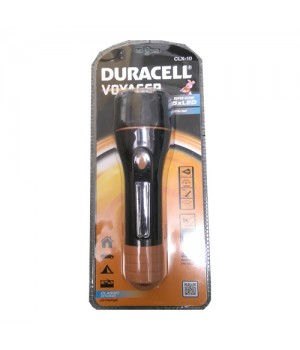 Duracell Lommelygte Voyager XL i sort plast