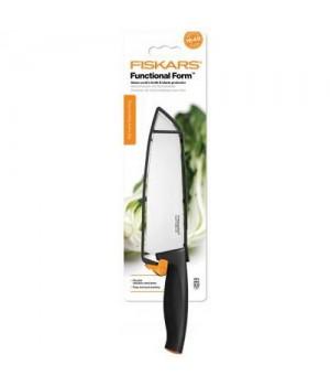 Fiskars Functional Form Asiatisk Kokkekniv 17 Cm. Med Sikkerhedscover