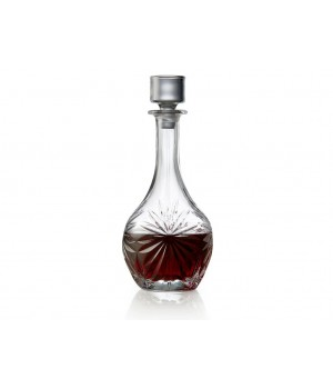 Lyngby Glas - Krystal Melodia Vinkaraffel - 1 Liter