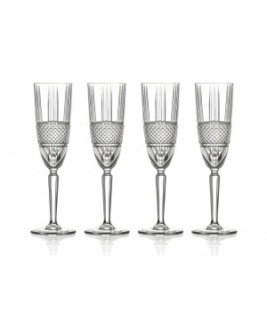 Lyngby - Champagneglas Brillante 4 Stk. - 19 Cl