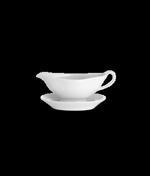 Pillivuyt - Plissé Sovsekande Og Underskål - Hvid 32 Cl