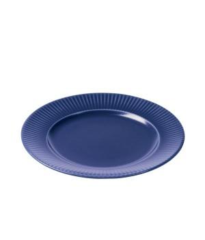 Aida - Groovy Stentøj - Frokosttallerken 21 Cm. Blå